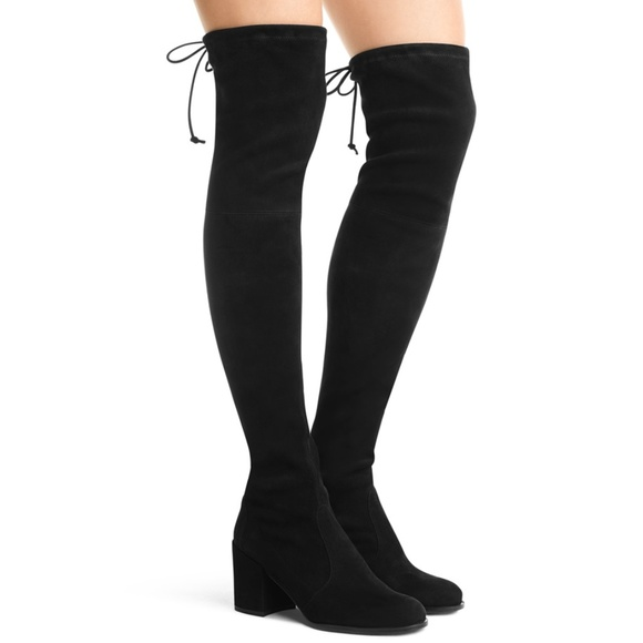 565edf04451 Stuart Weitzman Tieland Suede Over the Knee Boots.  M 5b2af38434a4ef0ce3a0d45b